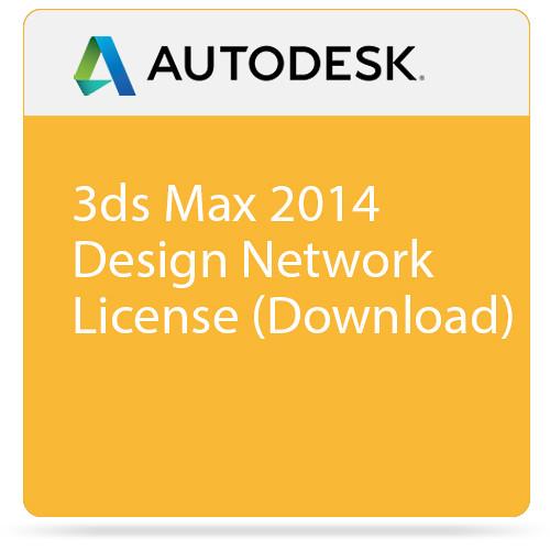 Autodesk 3ds Max 2014 Design Network License (Download)
