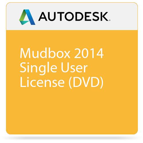 Autodesk Mudbox 2014 Single User License (DVD)