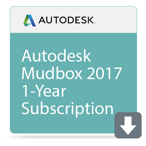 Autodesk Autodesk Mudbox 2017 1-Year Subscription with Basic Support (Download)