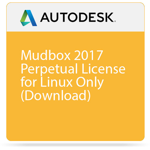 Autodesk Autodesk Mudbox 2017 Perpetual License for Linux Only (Download)