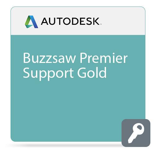 Autodesk Buzzsaw Premier Support Gold