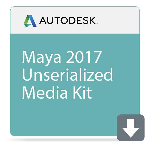 Autodesk Maya 2017 Unserialized Media Kit