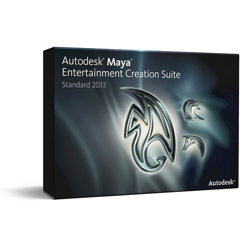 Autodesk Maya Entertainment Creation Suite 2013 Standard Commercial Subscription with Advanced Subscription (1 Year)