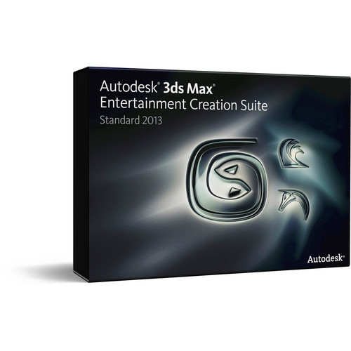 Autodesk 3ds Max 2013 Entertainment Creation Suite Standard Commercial Subscription with Advanced Support (1 Year)