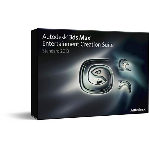 Autodesk 3ds Max Entertainment Creation Suite Standard 2013 (NLM)