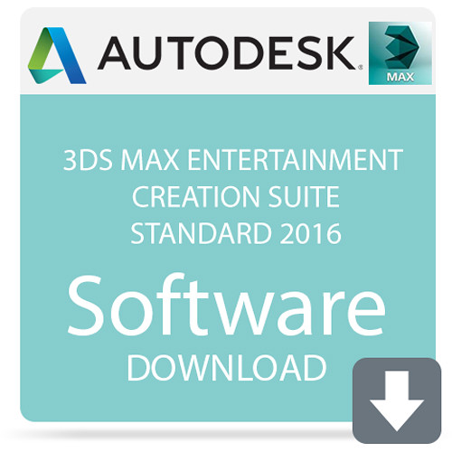 Autodesk 3ds Max Entertainment Creation Suite Standard 2016 (Download)