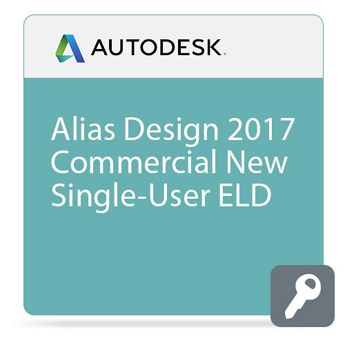 Autodesk Alias Design 2017 Commercial New Single-user ELD