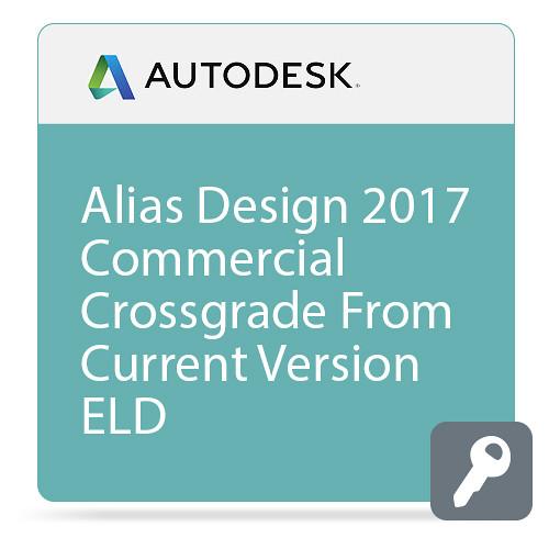 Autodesk Alias Design 2017 Commercial Crossgrade from Current Version ELD