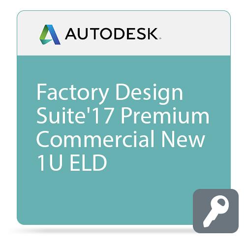 Autodesk Factory Design Suite Premium 2017 Commercial New Single-user ELD