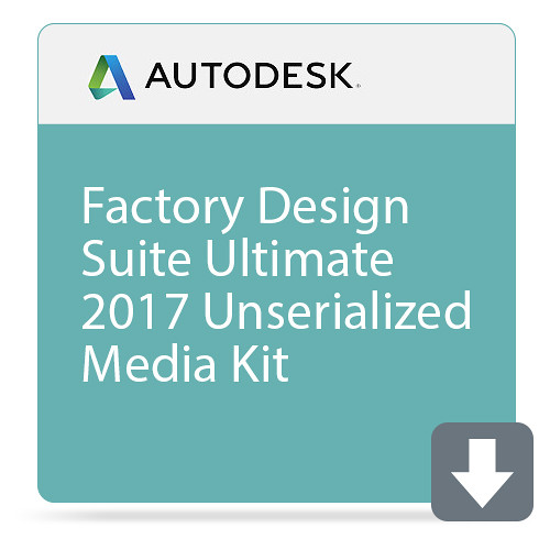 Autodesk Factory Design Suite Ultimate 2017 Unserialized Media Kit
