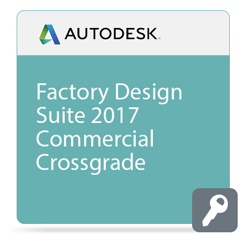Autodesk Factory Design Suite Ultimate 2017 Commercial Crossgrade from Product Design Suite Ultimate Current Version ELD