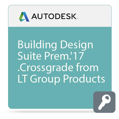 Autodesk Building Design Suite Premium 2017 Commercial Crossgrade from LT Group Products ELD