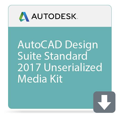 Autodesk AutoCAD Design Suite Standard 2017 Unserialized Media Kit