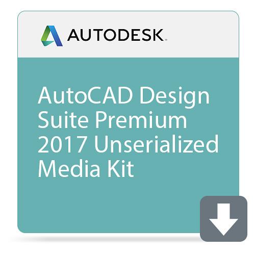 Autodesk AutoCAD Design Suite Premium 2017 Unserialized Media Kit