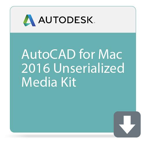 Autodesk AutoCAD for Mac 2016 Unserialized Media Kit