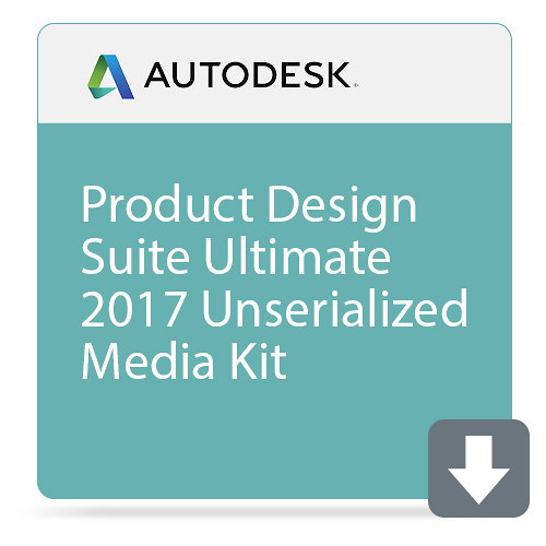 Autodesk Product Design Suite Ultimate 2017 Unserialized Media Kit