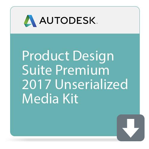 Autodesk Product Design Suite Premium 2017 Unserialized Media Kit