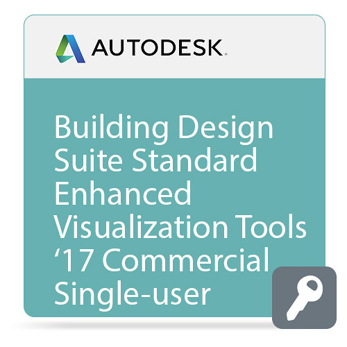Autodesk Building Design Suite Standard Enhanced Visualization Tools 2017 Commercial New Single-user