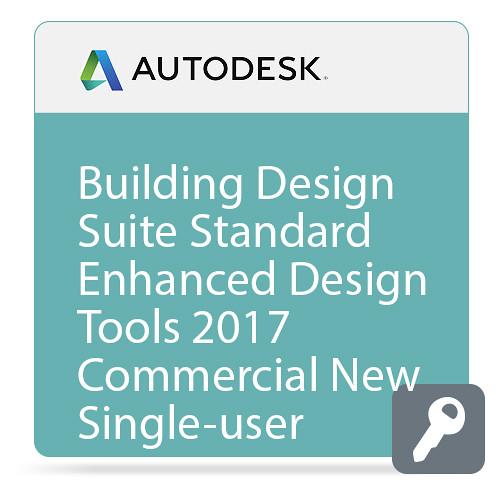 Autodesk Building Design Suite Standard Enhanced Design Tools 2017 Commercial New Single-user