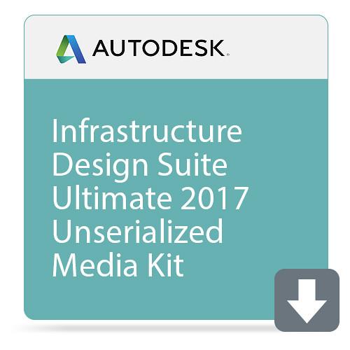 Autodesk Infrastructure Design Suite Ultimate 2017 Unserialized Media Kit