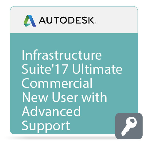Autodesk Infrastructure Design Suite Ultimate 2017 Commercial New Single-user ELD Annual Subscription - Advanced Support