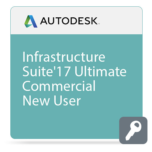 Autodesk Infrastructure Design Suite Ultimate 2017 Commercial New Single-user ELD