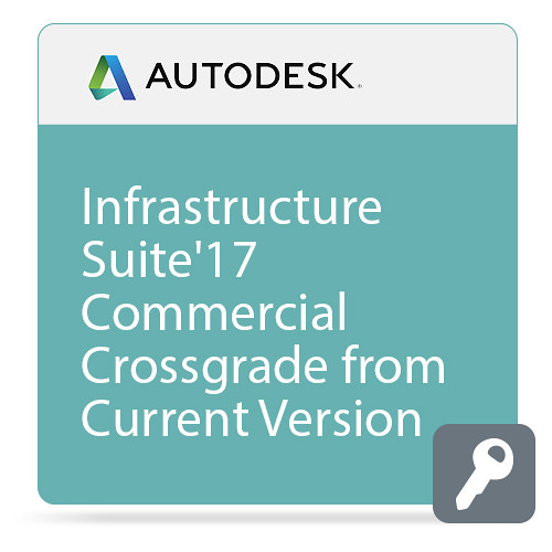 Autodesk Infrastructure Design Suite Ultimate 2017 Commercial Crossgrade from Current Version ELD