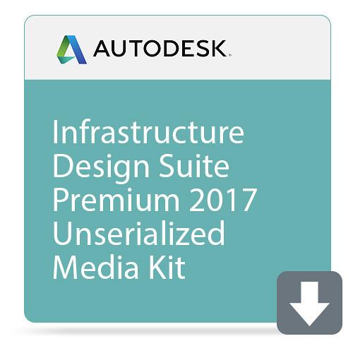 Autodesk Infrastructure Design Suite Premium 2017 Unserialized Media Kit