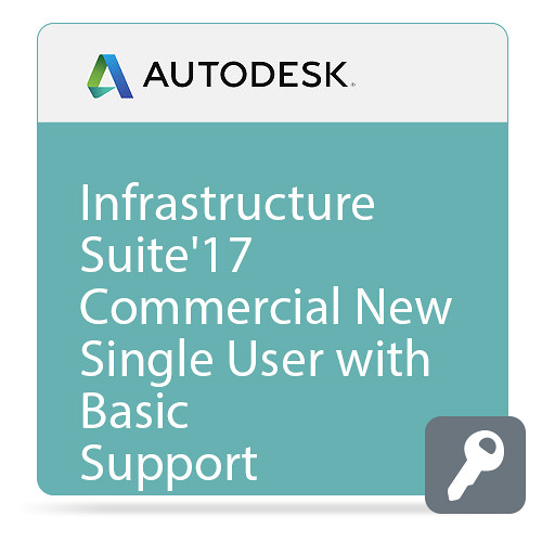 Autodesk Infrastructure Design Suite Premium 2017 Commercial New Single-user ELD Annual Subscription - Basic Support