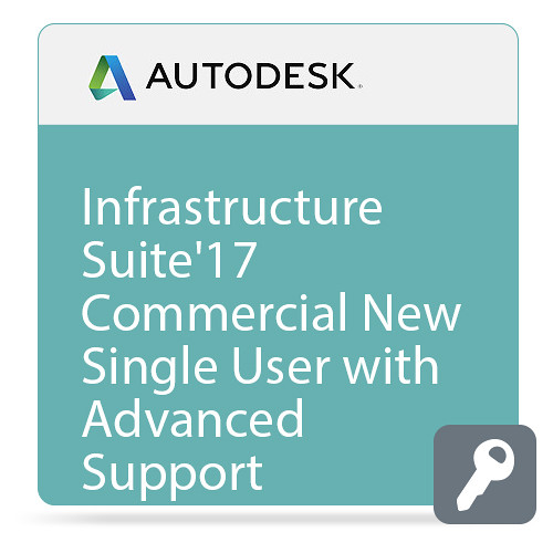 Autodesk Infrastructure Design Suite Premium 2017 Commercial New Single-user ELD Annual Subscription - Advanced Support