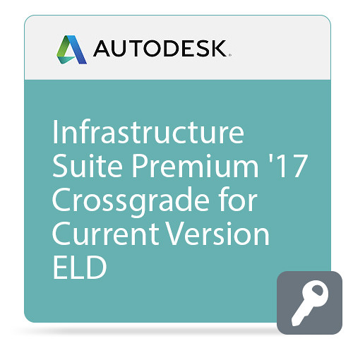 Autodesk Infrastructure Design Suite Premium 2017 Commercial Crossgrade from Current Version ELD