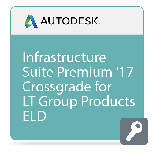 Autodesk Infrastructure Design Suite Premium 2017 Commercial Crossgrade from LT Group Products ELD