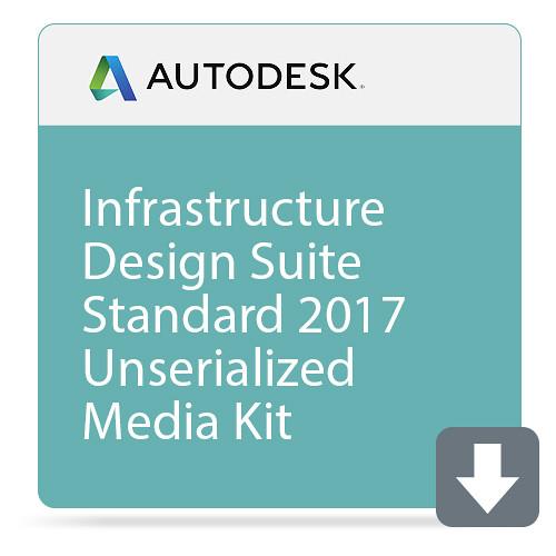 Autodesk Infrastructure Design Suite Standard 2017 Unserialized Media Kit