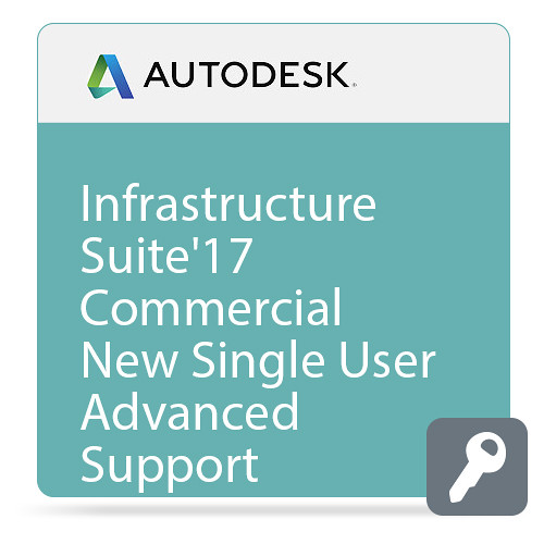 Autodesk Infrastructure Design Suite Standard 2017 Commercial New Single-user ELD Annual Subscription - Advanced Support