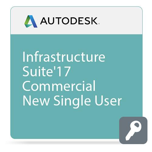Autodesk Infrastructure Design Suite Standard 2017 Commercial New Single-user ELD