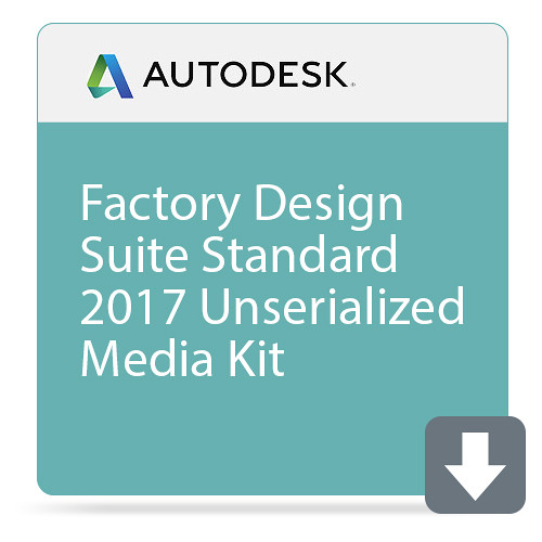Autodesk Factory Design Suite Standard 2017 Unserialized Media Kit