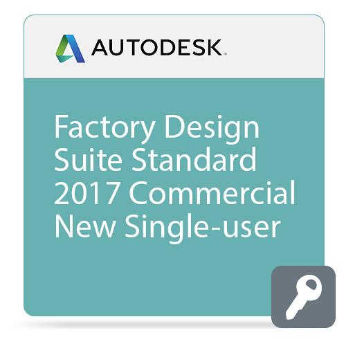 Autodesk Factory Design Suite Standard 2017 Commercial New Single-user ELD