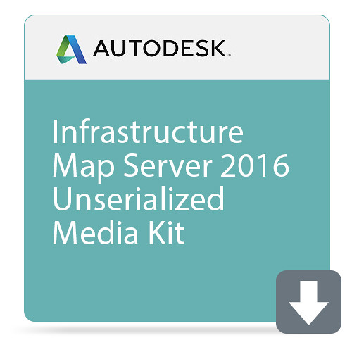Autodesk Infrastructure Map Server 2016 Unserialized Media Kit