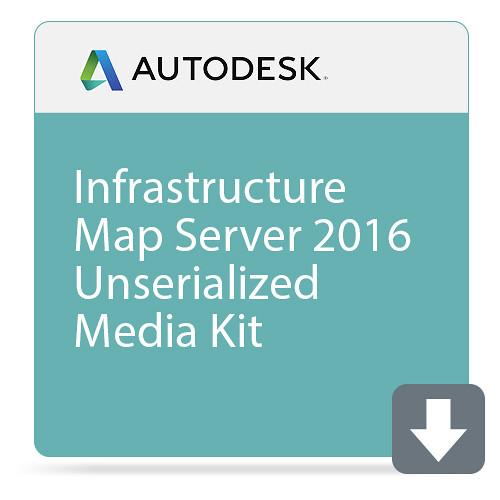 Autodesk Infrastructure Map Server 2016 Unserialized Media Kit