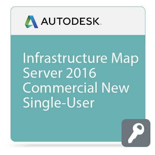 Autodesk Infrastructure Map Server 2016 Commercial New Single-User ELD