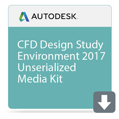 Autodesk CFD Design Study Environment 2017 Unserialized Media Kit