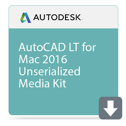 Autodesk AutoCAD LT for Mac 2016 Unserialized Media Kit