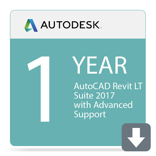 Autodesk AutoCAD Revit LT Suite 2017 with Advanced Support (1-Year Subscription, Download)