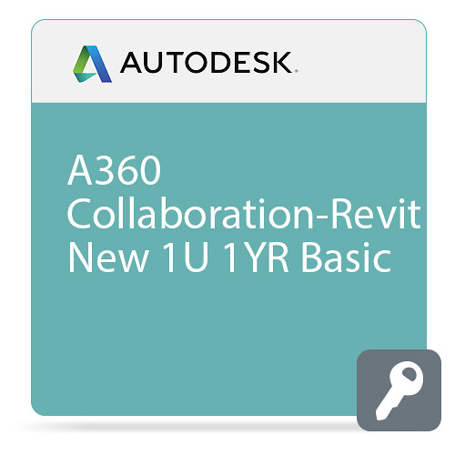 Autodesk A360 Collaboration-Revit Commercial New Single-user Annual Subscription with Basic Support