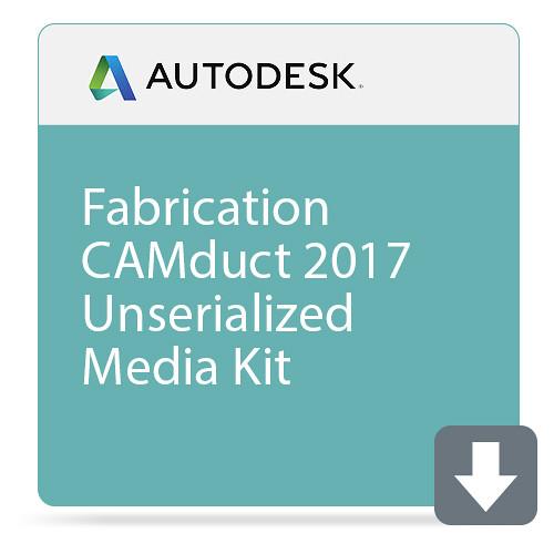 Autodesk Fabrication CAMduct 2017 Unserialized Media Kit