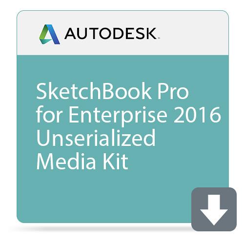 Autodesk SketchBook Pro for Enterprise 2016 Unserialized Media Kit