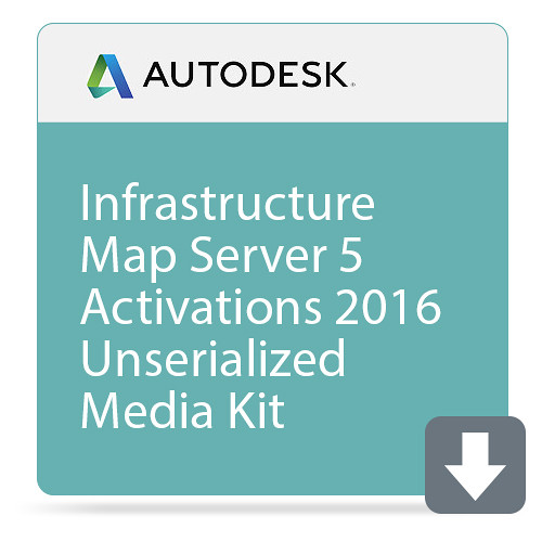 Autodesk Infrastructure Map Server 5 Activations 2016 Unserialized Media Kit