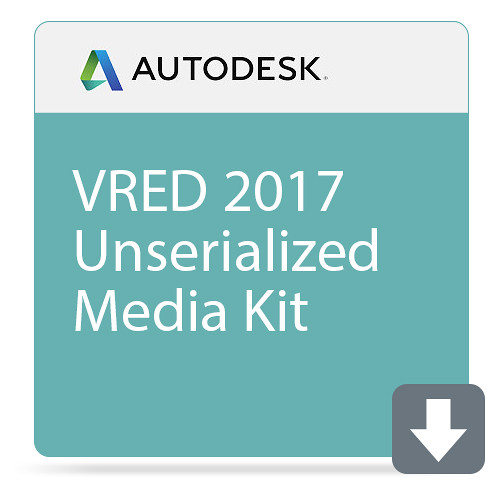 Autodesk VRED 2017 Unserialized Media Kit