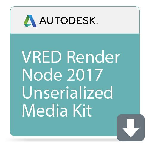 Autodesk VRED Render Node 2017 Unserialized Media Kit