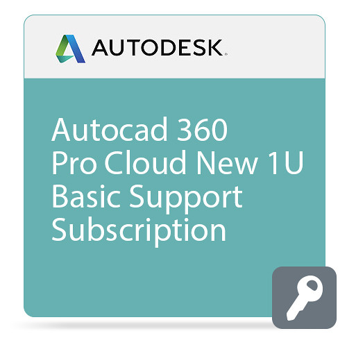 Autodesk AutoCAD 360 Pro CLOUD with Basic Support (1-Year Subscription, Download)